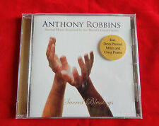 Anthony Robbins Sacred Blessings Brand NEW CD Featuring Deva Premal Miten Pruess