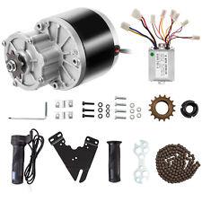 Kit Motore Elettrico Spazzolato 250W 24V CC per E-Bici Go Kart con Controller