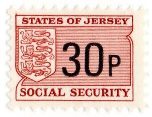 (I.B) Jersey Revenue : Social Security 30p