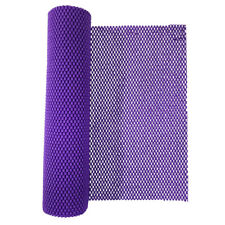 Purple Foam Rubber Anti-Slip Shelf Drawer Liner Mat for Kitchen Cupboard