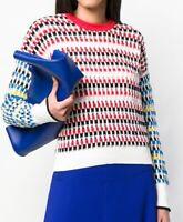 NWOT Kenzo Paris Multicolor Knit Sweater Size M