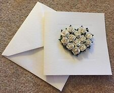 7x True Love Ivory Acceptance/Thank You Cards With Envelopes