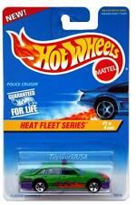 1997 Hot Wheels #537 Heat Fleet #1 Police Cruiser 0918 crd