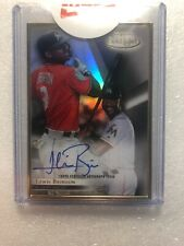 2018 Topps Gold Label Framed Autograph Lewis Brinson