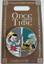 Disney Pinocchio Once Upon A Time Blue Fairy* Jiminy Cricket Potm Le Pin