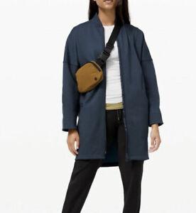 New Size 14 Lululemon Take A Stroll Jacket True Navy Blue Coat