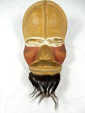 Seltene afrkanische Wandmaske / wall mask ACHATIT  Werkstätten H. Schirmer 26 cm