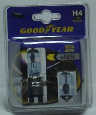 2 ampoules / lampes feux de croisement 12v 55w H4 ULTRA VISION 80% GOOD YEAR