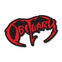Obituary Sticker / Decal - Death Metal Band Music Car Laptop CD Album