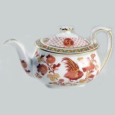 "GOLDEN COCKEREL Wedgwood TEA Pot 4"" tall NEW NEVER USED Bone China made England"