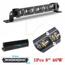 Car Grille 60W LED Work Light Bar Spot Beam Offroad 4WD SUV ATV Driving Lamp x 1