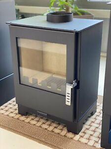 Stove Oven Wood Burner Verso 3L bimschvii 5 KW. a +