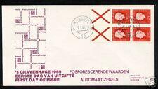 FDC met postzegelboekje PB 9F, Philato, blanco/open