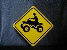 METAL MINI  ATV   TRAFFIC     SIGNS   MINIATURE Aluminum  SIGN
