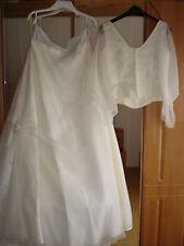 2 teiliges Brautkleid von Kleemeier Gr. 46 in perlweiß