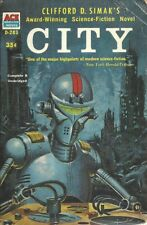 City Clifford D. Simak 1952 Science Fiction Vintage Very Good