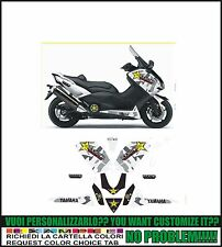 kit adesivi stickers compatibili tmax 2012 2014 530 rockstar