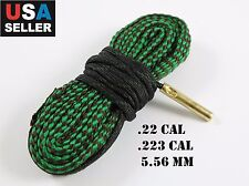 Boresnake .22 .223 5.56, AR-15 Gun Rifle Cleaner Bore Snake Cleaning Kit