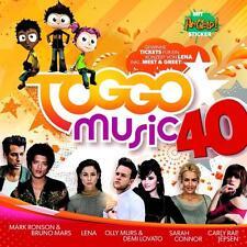 """CD  - """"TOGGO MUSIC 40""""+neu+ovp++"""