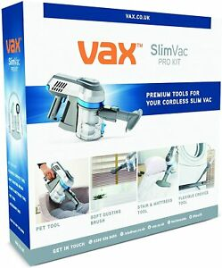 Vax Slim Vac Pro kit Suitable for use kitchen,home & office 1-1-137896
