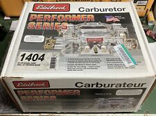 Edelbrock Carburetor #1404 500 CFM With Manual Choke, Satin Finish (Non-EGR)