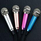 New 3.5mm Mini Studio Speech Mic Microphone for Phone Laptop PC Desktop Notebook