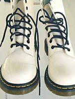 DR DOC MARTEN White Mens Boots NEW  England Ankle Boots Shoes 7.5 US 41 EU