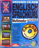 Grosser CD-ROM Englisch Sprachkurs