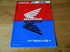 Honda VT750C/C2-1 , Workshop service manual addendum, 62MBA00Y,