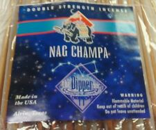 THE DIPPER DOUBLE STRENGTH 19 INCH INCENSE NAG CHAMPA 25 STICKS 3+ HOURS