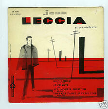 45 RPM EP JEAN LECCIA MON AMOUR DUCRETET THOMSON