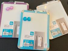 """Pen + Gear Magnetic Dry Erase Board, 8.5"""" x 11"""" (Variety Color) NEW"""