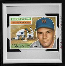 1956 Topps CHUCK STOBBS (WB) #68 NM *nice baseball card for set* DD18