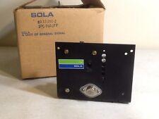 SOLA ELECTRIC 83-12-250-2 Power Supply 60 Watt 12 VDC output 120 VAC input