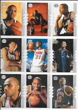 1995-96 SP Championship Shots Complete 12 card Lot Garnett RC, Penny++