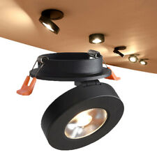 Rotatable Led COB Downlight Round Recessed Ultrathin Adjustable Ceiling Lamp