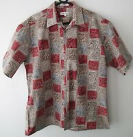 "Vintage Auth Pierre Cardin Hawaiian Cotton Shirt 49""-122.5cm L 377H"