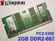 2GB DDR2-667 PC2-5300 200pin KINGSTON LAPTOP KTH-ZD8000B/2G SODIMM RAM MEMORY