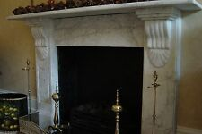 Victorian Fireplace White Marble