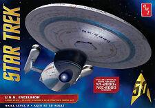 AMT 1/1000 STAR TREK USS Excelsior NX-2000 or NCC-2000 Plastic Model Kit AMT843
