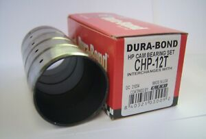 Dura-Bond CHP-12T BBC High Performance Coated Cam Bearings Chevy 396 427 454 502