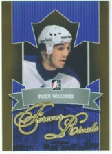 "TIGER WILLIAMS ""GOLD BASE CARD #83"" ITG FOREVER RIVALS TORONTO MAPLE LEAFS"