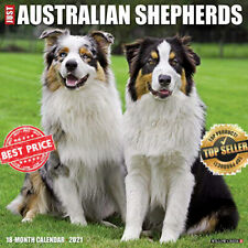 Just Australian Shepherds 2021 Wall Calendar Dog Breed Calendar
