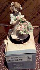 Giuseppe Armani Cherie Girl w Rose Basket Figurine #1418F The Society 2001 New