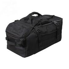 ROTHCO 3-IN-1 CONVERTIBLE MISSION BAG / PACK IN BLACK NEW