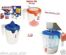 BROCCA TRIS spremiagrumi sbattitore brocca barattolo contenitore1,5LT LEGA CUCIN