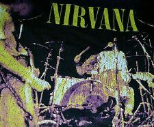Vintage 96 Nirvana Wishkah Tour Shirt Grunge Metal Alternative Rock Pearl