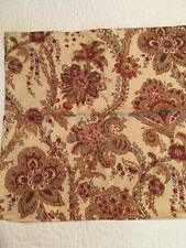 POTTERY BARN PILLOW COVER 18 x 18 Beige Natural Floral Decor-EXCELLENT!