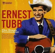 ERNEST TUBB ~ TEXAS TROUBADOUR NEW CD * AMERCIAN COUNTRY + WESTERN SINGER *