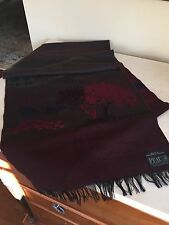 AUTHENTIQUE  PEAU  100% Lambswool  vintage Scarf West Germany!